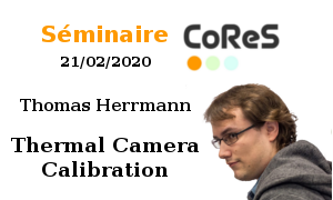CoReS seminar: thermic camera calibration