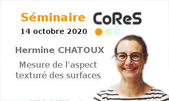 CoReS Seminar: Hermine Chatoux