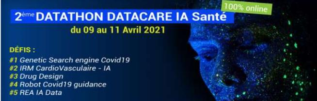 Webinaire de restitution des résultats du 2eme Datathon Datacare IA Sante