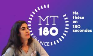Rita MEZIATI SABOUR à la finale régionale de  «Ma thèse en 180 secondes»