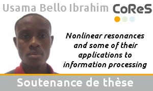 Usama Bello Ibrahim's thesis defense